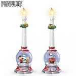 Christmas Peanuts Candle Holders