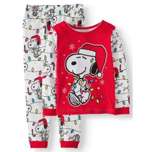 Peanuts Christmas Pajamas from Walmart