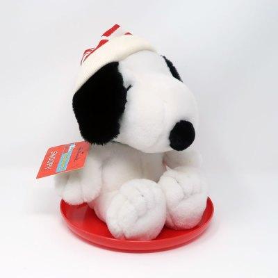 Snoopy on Sled Plush