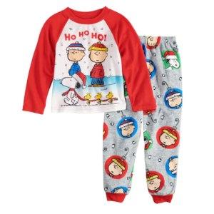 Peanuts Christmas Pajamas from Kohl's