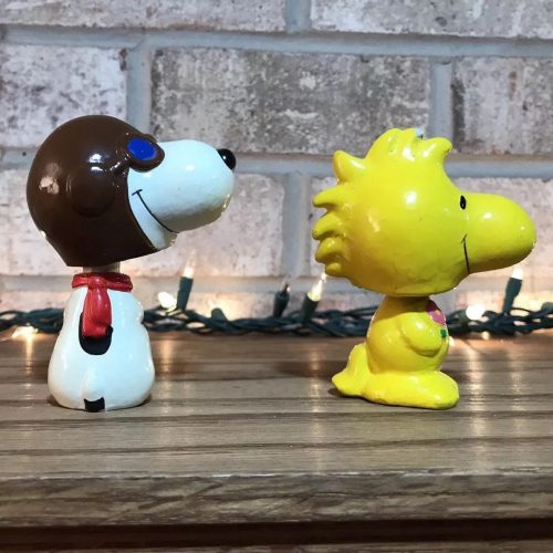 Snoopy and Woodstock Bobbleheads