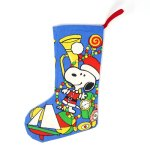 Santa Snoopy with Toys Christmas Stocking