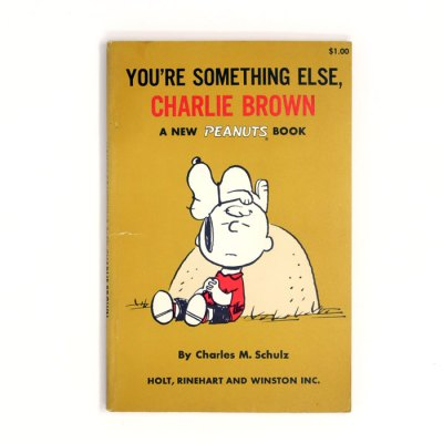 You're Something Else, Charlie Brown Peanuts Book