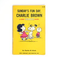 Sunday's Fun Day, Charlie Brown Peanuts Book