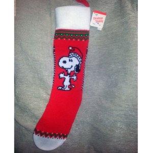 Ambassador Snoopy Christmas Stocking
