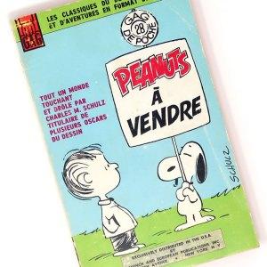 French Peanuts Comics Books