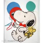 Snoopy and Woodstock with Balloons Wall Decor