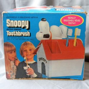 Snoopy Battery Powered Toothbrush