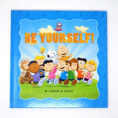 Be Yourself Peanuts Kids Book