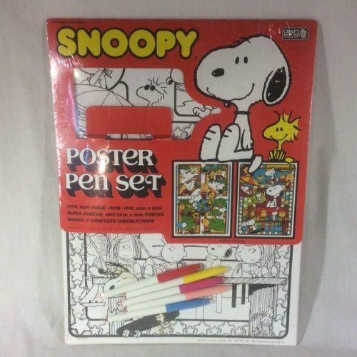 Snoopy Poster Pen Set