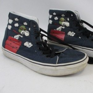 Used Snoopy Vans Shoes