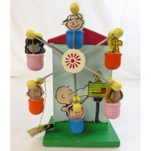 Peanuts Ferris Wheel Musical Bank