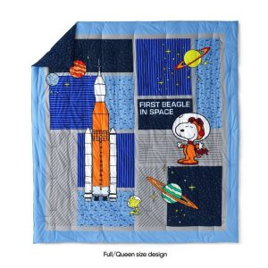 Astronaut Snoopy Bedding