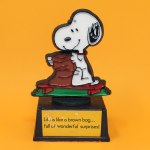 Snoopy Brown Bag Trophy