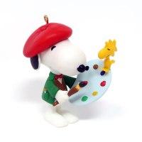 Artist Snoopy Ornament
