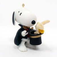 Magician Snoopy Ornament