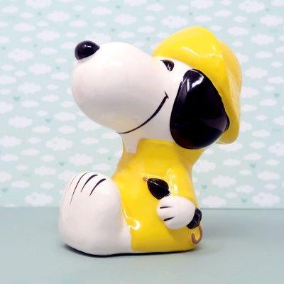 Raincoat Snoopy Bank