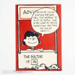 Snoopy and Lucy Pop-up Birthday Card
