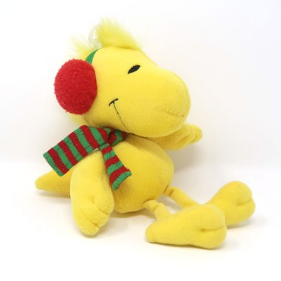 Woodstock with earmuffs and scarf Plush