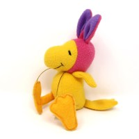 Woodstock in Pink Bunny Hat Plush