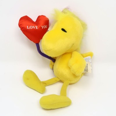 Woodstock with Heart Balloon Valentine's Day Plush