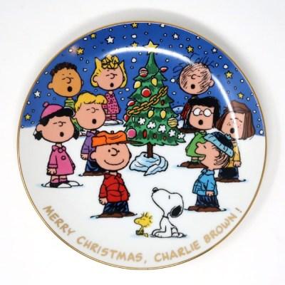 Merry Christmas, Charlie Brown Plate