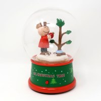A Charlie Brown Christmas Tree Snow Globe