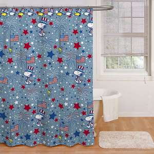 Snoopy Patriotic Bath Decor