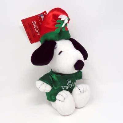 Joe Mistletoe Snoopy Christmas Plush