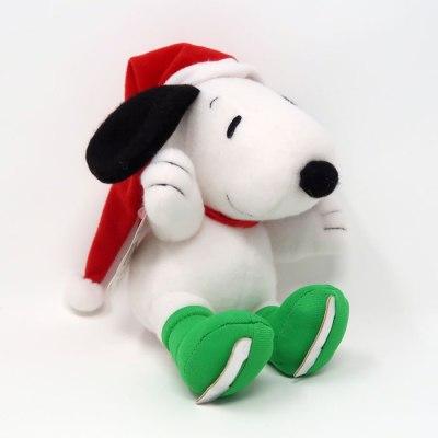 Snoopy Ice Skater Christmas Plush