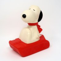 Avon Snoopy Snow Flyer Bubble Bath
