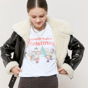 Peanuts shirts at Urban Outfitters
