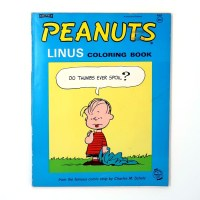 Peanuts Linus Coloring Book