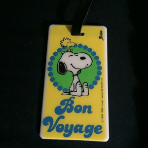 Snoopy Aviva Luggage Tag