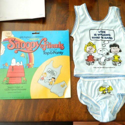 Snoopy Girls Top & Panty Set