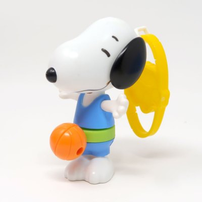 Basketball Snoopy Happy Meal Toy
