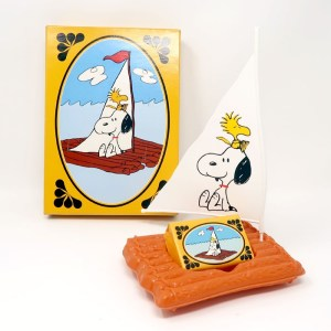 Snoopy Come Home Soap Dish and Soap