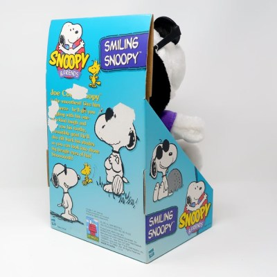 Smiling Snoopy Animated Plush Doll