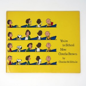 You're in School Now, Charlie Brown Text Book