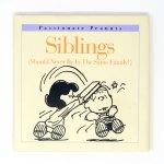 Siblings Peanuts Book