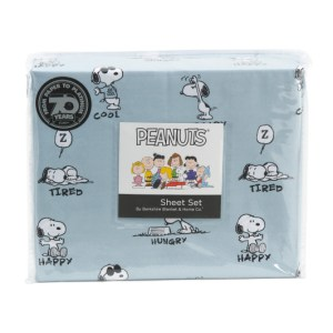 Snoopy Sheets & Berkshire Blankets from TJ Maxx