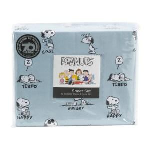 Snoopy Sheets & Berkshire Blankets from TJ Maxx