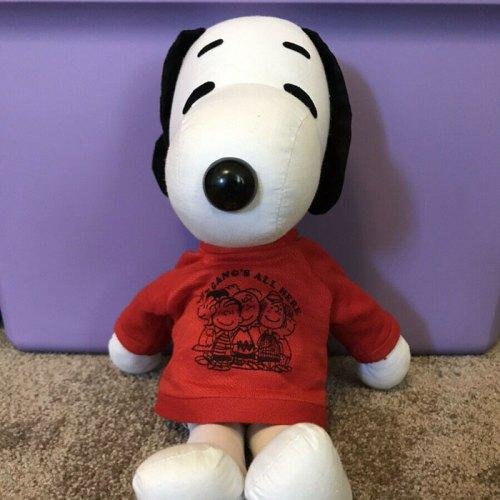 Snoopy Rag Doll