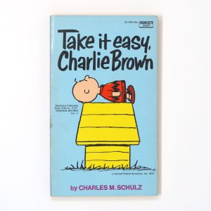 Take it easy, Charlie Brown Book