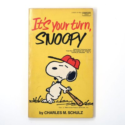 It's Your Turn, Snoopy Book