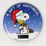 Snoopy Kohl's Promo Button