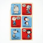 Red & Blue Peanuts Stickers