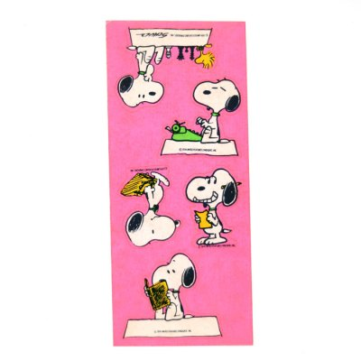 Snoopy Reading & Writing Stickers