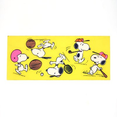 Snoopy Sports Stickers