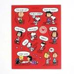 Peanuts Valentine Stickers